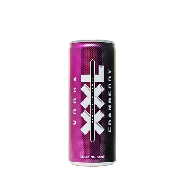 XXL Vodka <br/>Mix Cranberry